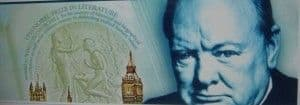 The New 5 Pounds note