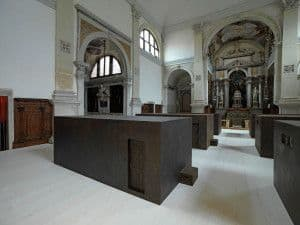 Sarcophagi into Sant'Antonin Chruch