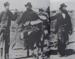 Miners with Levi Strauss pants.