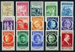 1935 Women Congress in Turkey - Turkish stamp with Grazia Deledda.