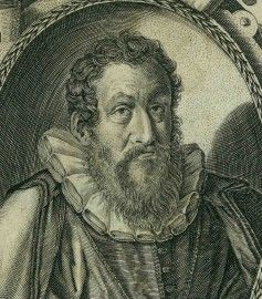 Portrait of Cardano from a XVII century French book