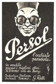 Pubblicita' Persol 1940