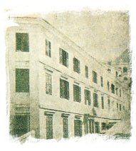 The first Catholic Church in Hong Kong, Wellington Street – corner Pottinger Street.