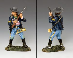 Tin toy-soldier representing Sgt. John Martin available at King&Country shop in Pacific Place, Hong Kong