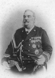 Adm. Camillo Candiani Commander of the Italian Contingent to Bejing in 1900.