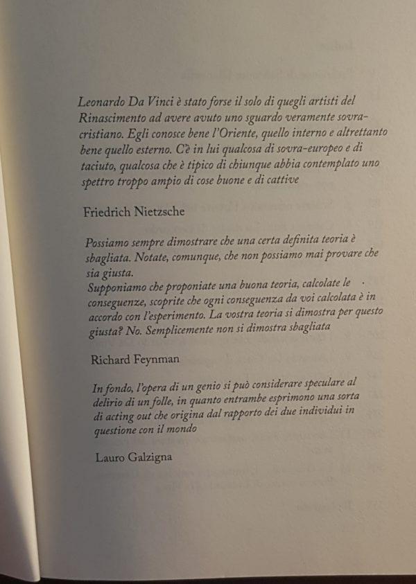 Grazie a Chiara Salvini per aver ricordato il genio di Lauro Galzigna