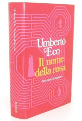 "A bizzarre idea for the 40 years for""Il Nome Della Rosa"" by Umberto Eco."