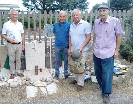 Umberto Boccioni ricordato a 105 anni dalla morte. Solo Massimo Mariotti, fra le autorità politiche veronesi, è stato presente.